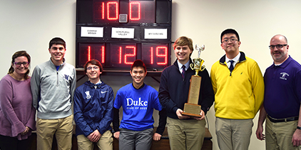 Academic Challenge Winners - Wyomissing Area
