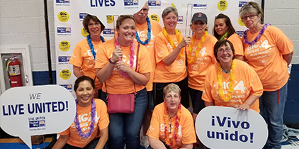 United Way Big Cheese Project 2018