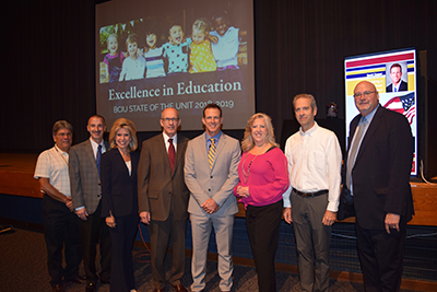 State of the Unit Excellence in Education