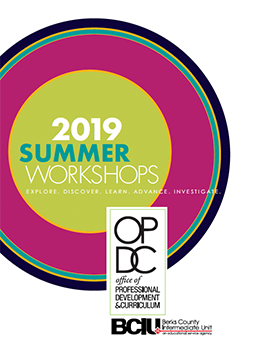 2019 Summer Workshops OPDC