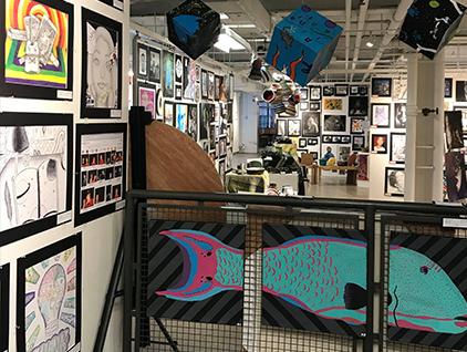 2019 BCIU Secondary Art Exhibit