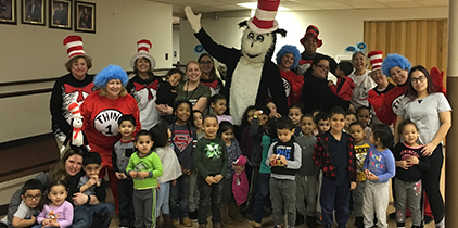 BCIU and United Way Celebrate Dr. Seuss's Birthday