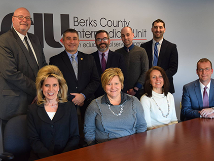 BCIU Leaders with Deputy Secretary Matt Stem